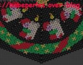 Patron en tissage danois d'un lutin de Noël : Tutoriels de fabrication par babezaza
