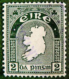 Stamp Eire 2 p