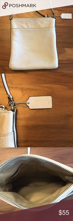Coach Purse Authentic Coach purse. Purchased at Dillard's. Slate gray color. Over the shoulder. This purse is in good condition. Coach Other