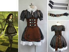 Alice Madness Returns Alice Stream cosplay costume | Collectibles, Animation Art & Characters, Japanese, Anime | eBay!