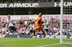 England Under 21 goalkeeper Butland produced a stunning save to deny Harry Kane from close...