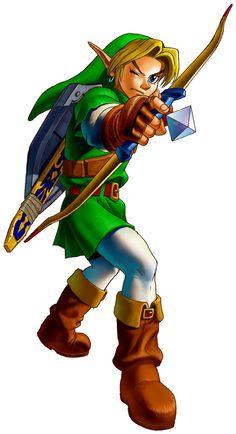 Ocarina of Time Manga Art | The Legend of Zelda: Ocarina of Time > Galeries > Artworks > Nintendo ...