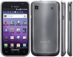 Used T-Mobile Samsung Vibrant T959V Cell Phone 4G Smartphone Charcoal Black #T-MobilePhones