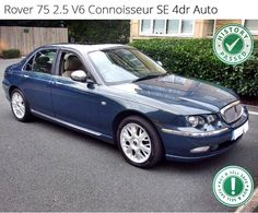 Rover 75 - Rare Colour British Car, Volvo, Euro, Mercedes Benz, Volkswagen, Jazz, Classic Cars, Automobile, Nostalgia