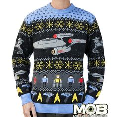 Star Trek TOS Sweater
