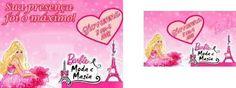 Resultado de imagem para barbie moda e magia lembrancinhas