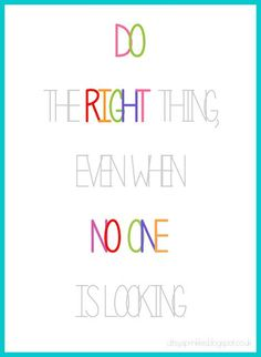 Doing the right thing all day, every day.   #recovery #quotes #quotestoliveby
