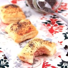 Ham Pastry - An easy finger food for your next appetizer