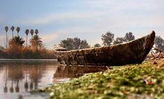 Sumerian marshland southern Iraq