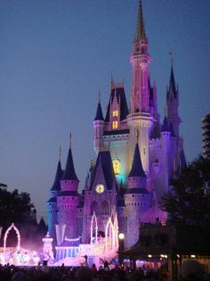 I love this place! You are never to old to enjoy a trip to the magic kingdom and Cinderella's Castle.