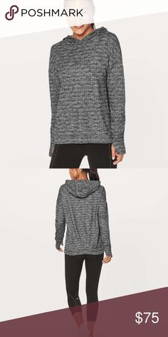 Lululemon Extra Mile Hoodie New never worn, tags not attached but will ship with. lululemon athletica Tops Sweatshirts & Hoodies