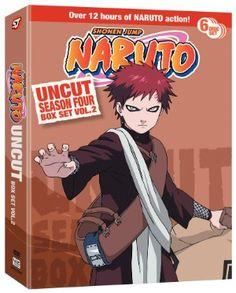 Naruto DVD Season 4 Box Set 2 (Hyb) Uncut #RightStuf2013