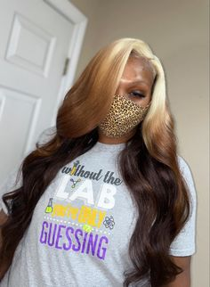 Weave Ponytail Hairstyles, Braids Hairstyles Pictures, Sew In Hairstyles, Frontal Hairstyles, Baddie Hairstyles, Pretty Hairstyles, Dyed Natural Hair, Natural Hair Styles, Lace Front Wigs