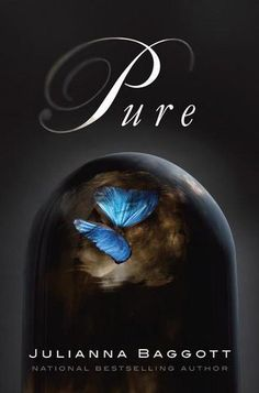 Pure, by Julianna Baggott. If you liked The Hunger Games, you might try this one. It's a very good Young Adult post-apocalyptic novel. Its technical themes include nanotechnology and the effects of atomic bombs. Ya Books, I Love Books, Great Books, Books To Read, Amazing Books, Suzanne Collins, Margaret Atwood, Hunger Games Novel, Post Apocalyptic