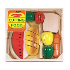 melissa and doug cutting food... got this already