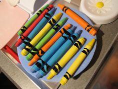 Fondant crayons