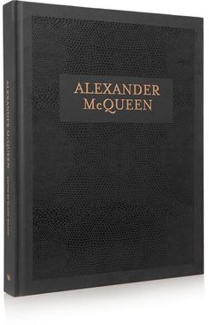 Alexander McQueen From ground-breaking essays by expert fashion commentators, cultural scholars and collaborators to an Encyclopedia of Collections dating back...this hardcover book is the definitive work on one of Britain's most daring and provocative designers. This stunning 352-page compendium published to accompany the Victoria and Albert Museum in London's Alexander McQueen: Savage Beauty retrospective, and has been edited by exhibition curator Claire Wilcox.