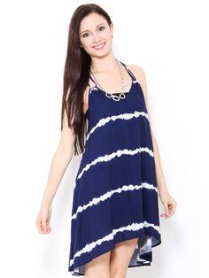 Tie Dye High Low #Dress