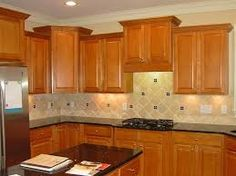 Kitchen Cabinets And Granite Countertops granite with oak -- what color? light or dark? - kitchens forum