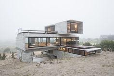 Architecture Design, Amazing Architecture, Contemporary Architecture, Concrete Architecture, Futuristic Architecture, Design Exterior, Casas Containers, Concrete Houses, Container House Design