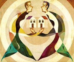 Desde Portugal, Goncalo Viana, ilustrador por convicción, estudió arquitectura, se mudó a Londres y volvió a luz cálida y brillante de Lisboa. Viana encontró en la geometría una manera de proporcionar un sustento para sus conceptos elegantes, de colores y texturas notables.