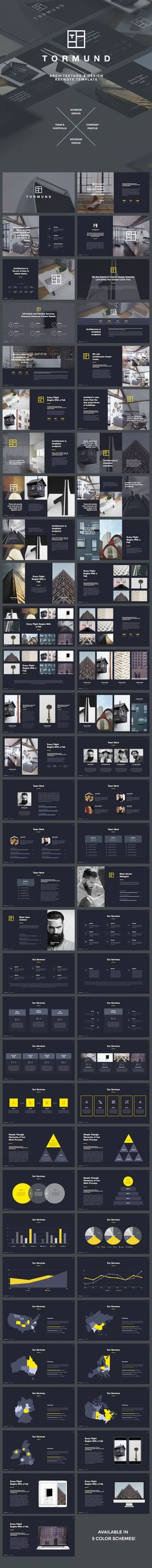 Thormund - Design & Portfolio Keynote Template