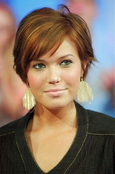... Double Chins Short Hairstyles For Round Faces With Double Chin Short