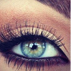 Beautiful! #makeup One quality i would like to change about myself is to have blue eyes