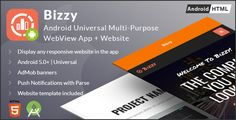"Bizzy  Android Multi-purpose WebView App   Website by fvimagination     Aug 27th 2017  Updated buildToolsVersion to '26.0.1' in build.gradle (Module:app)  Added this line into 'repositories' in build.gradle (Project:): maven { url ""https://maven.google.com\"" }Aug 24th 2017 Added a top bar"