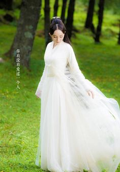 Yang Mi 杨幂 Three Lives, Three Worlds, Ten Miles of Peach Blossoms 三生三世高清剧照 夜华 Hanfu, Blossom Costumes, Cosplay Costume, Peach Blossoms, Exhibition, Chinese Clothing, Chinese Style, Traditional Dresses, Asian Beauty