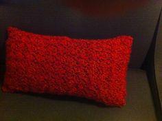 Crochet Throw Pillow.