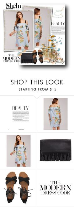 """Shein Dress"" by sanela1209 ❤ liked on Polyvore featuring Rebecca Minkoff and Billabong"