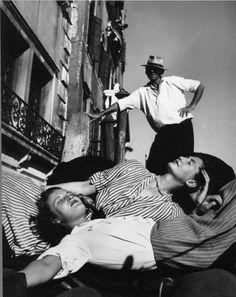 Italian Vintage Photographs ~ #Italy #Italian #vintage #photographs ~ Christian Dior a Venezia, 1948 © Federico Patellani