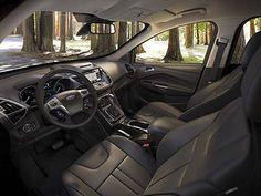 2013 Ford Escape Interior by CassCountyFord1, via Flickr