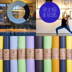 Collab Zürich - Innovation through collaboration!  Newly you can find our beyondyoga mats as well at Collab in Zurich, because now every Tuesday at 20:00 a Yoga Flow with Marlene POP UPYOGA, takes place in this cool location. The Collab at Pfingstweidstrasse 10 in Kreis 5 in Zurich is a cool Swiss - Designer Shop, Art gallery and event location with vibrant City Vibe! Please bring your own yoga mat and sign up here: COLLAB ZURICH, Pfingstweidstrasse 10, District 5 www.collabzuerich.com Workshop, City Vibe, Shop Art, Yoga Retreat, Yoga Flow, Zurich, Collaboration, Tuesday, Innovation