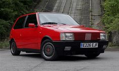 Fiat Uno Turbo  1.4 8v turbo. One of the only Fiat's I'd consider owning. Very quick but also very rare now.