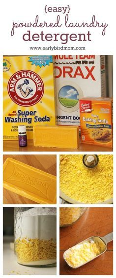 how to make liquid laundry detergent from powdered laundry detergent