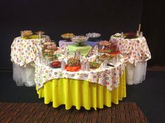 Tips on how to create the perfect candy buffet #PreppyPlanner