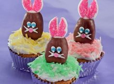 Peanut Butter Bunnycakes!