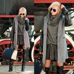 Going to add leather to my coat like this!