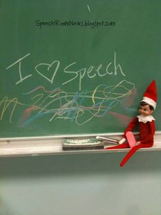 Speech Room News: Elf on the SPEECH Shelf: FREEBIES