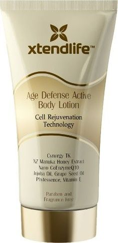 XtendLife Age Defense Body Lotion is no ordinary Body Lotion!  Xtend-Life Age Defense Body Lotion is so superior to other body lotions on the market.      Read more: http://www.usfreeads.com/2120677-cls.html#ixzz1soFHFzIZ