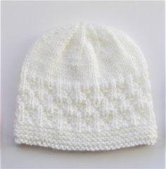 Marianna & # s Lazy Daisy Days: Milk & Sugar Baby Hat , Baby Cardigan Knitting Pattern Free, Baby Hats Knitting, Easy Knitting, Baby Knitting Patterns, Knitted Hats Kids, Crochet Patterns, Knitted Dolls, Knitting Designs, Newborn Knit Hat
