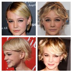 Carey Mulligan's hair is my absolute  favourite!