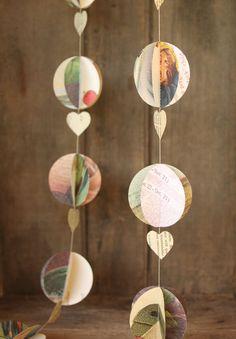 Hotair Balloon Garland Paper Garland Baby Shower by smileywileys