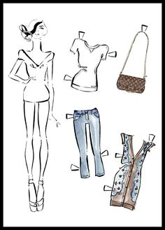 Paper dolls van Louis Vuitton, by Kerrie Hess Louis Vuitton Online, Louis Vuitton Scarf, Louis Vuitton Sneakers, Louis Vuitton Wallet, Louis Vuitton Handbags, Vogue Fashion, Fashion Dolls, Fashion Art, Fashion Design