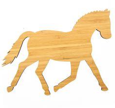 Good Wanddeko Dressurpferd aus Bambus Coffee Das Original von Mr u Mrs Panda