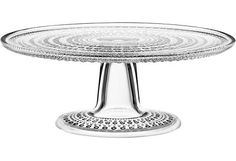 Ideal for supporting pies, cakes, cupcake assortments, and even a candle display, this footed hobnail cake stand is crafted of clear lead-free glass. Cake Stand With Lid, Cupcake Stands, Tall Cakes, Glass Cakes, Australian Homes, Elegant Homes, Beautiful Cakes, Beautiful Things, Clear Glass