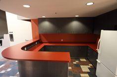 Custom laminate cabinets and countertops. Brea, CA.