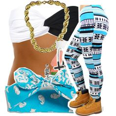 I would like the pants, shoes, and the headband.